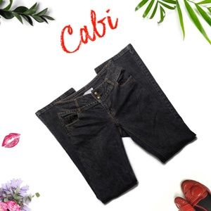 Cabi #895L Mid Rise  Bootcut Jeans Size 4